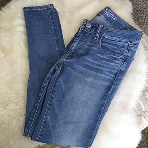 American Eagle Jegging Skinny Jeans Super Stretch